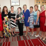 John McKeon, Main Sponsor of the Ladies Midsummer BBQ pictured with the organising committee