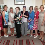 Group of ladies enjoying the BBQ at the Radisson SAS Hotel & Spa, Sligo