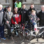 Sligo Rovers Management support Charity Cycle