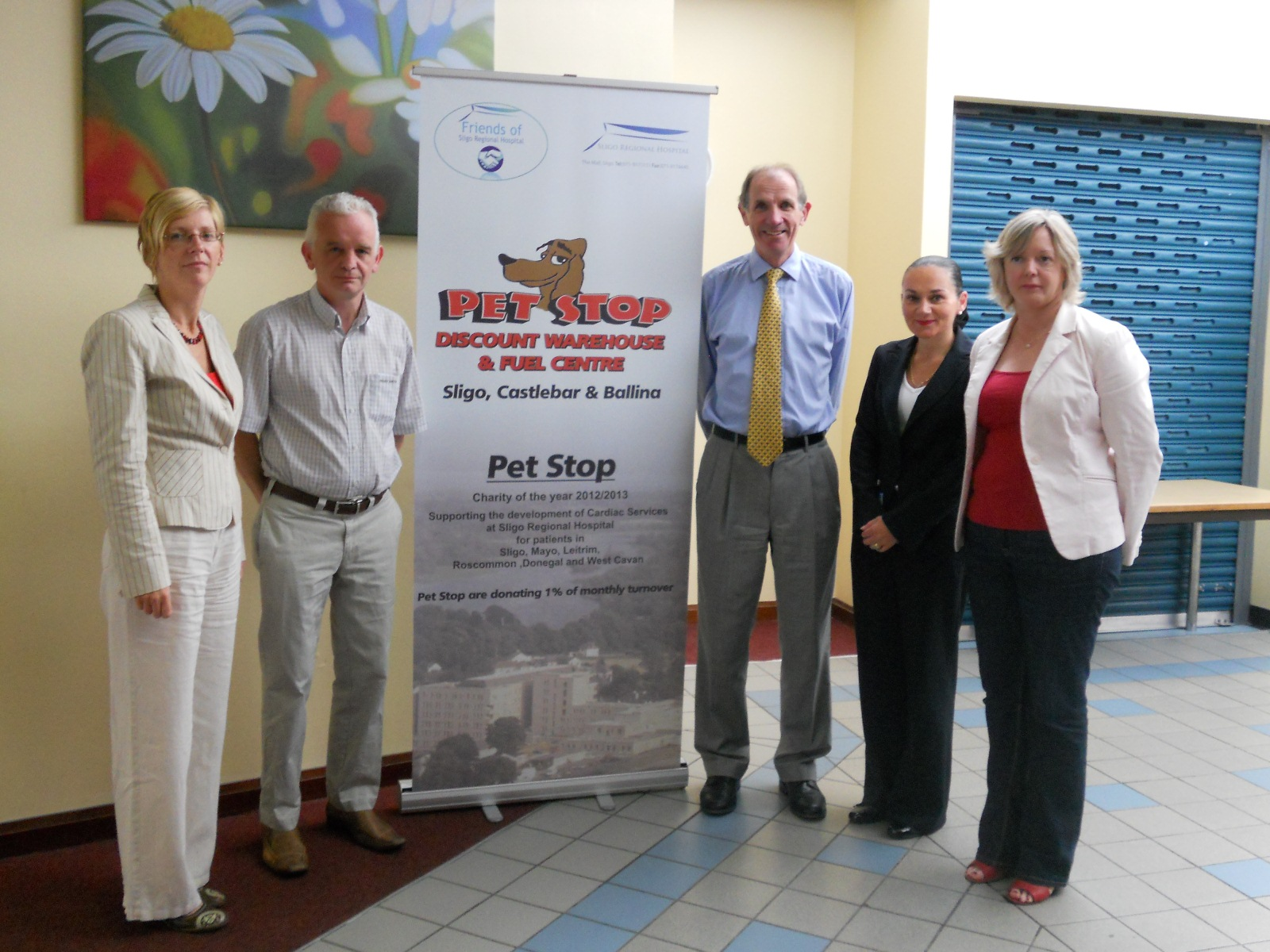 Pet Stop funding campaign for Cardiac Services Sligo University Hospital