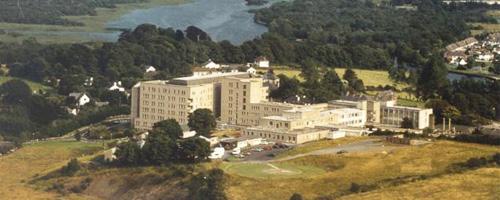 Sligo University Hospital Aerial View