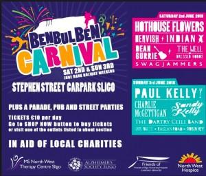 Benbulben Festival 2018
