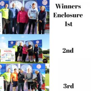 Winners Enclosure 1st2nd 3rd