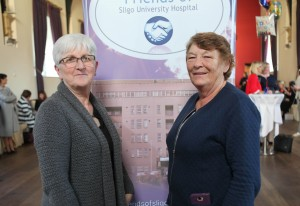 Rose Leyden and Eileen Mc Sharry