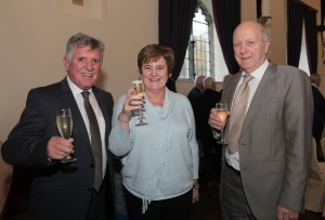 Martin Reilly, Marian Moore and Tony Wehrly.